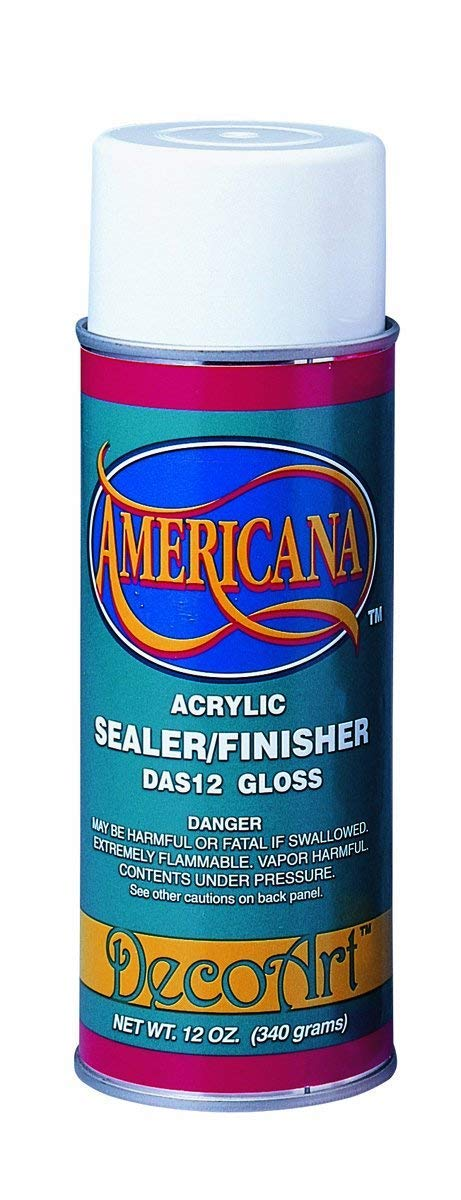 Deco Art 12-Ounce Americana Acrylic Sealer/Finish Aerosol Spray, Gloss Notions - In Network AS-12-7