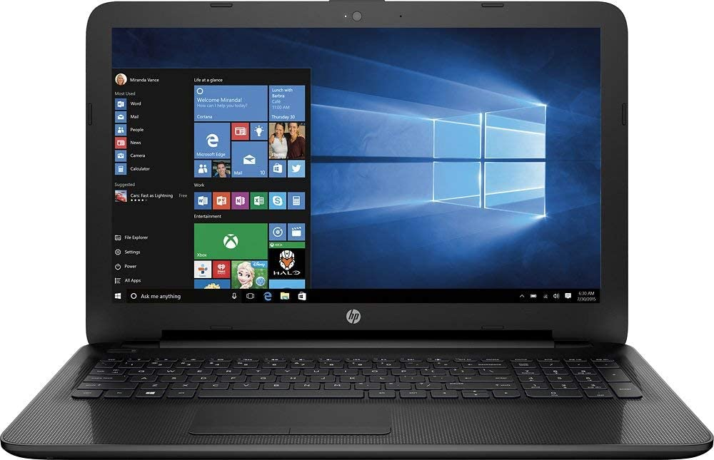 2016 HP Pavilion 15.6-inch High Performance Notebook Intel Core i5-5200U Processor, 4GB RAM, 1TB HDD, DVD+/-RW, HDMI, Webcam, WiFi, Windows 10