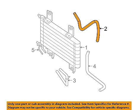 Auto Trans Oil Cooler Hose Nissan 21634-EA500