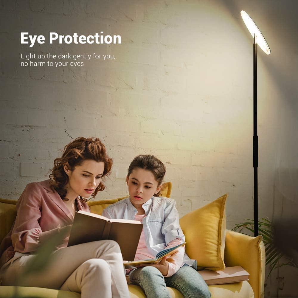 lampada da terra a LED PAVLIT luminosit/à regolabile dimmerabile 3 temperature di colore moderna per la cura degli occhi in soggiorno 30 W Lampada a stelo