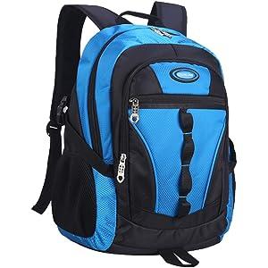 Casual Daypack Travel Backpack Student Book Bag Royal Blue MATMO Boys Backpack