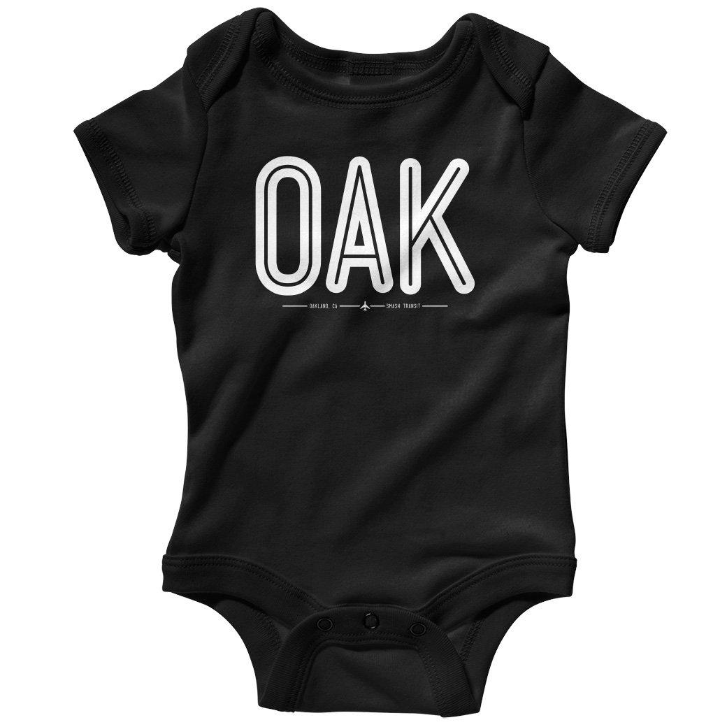 Smash Transit Baby Oak Oakland Airport Creeper