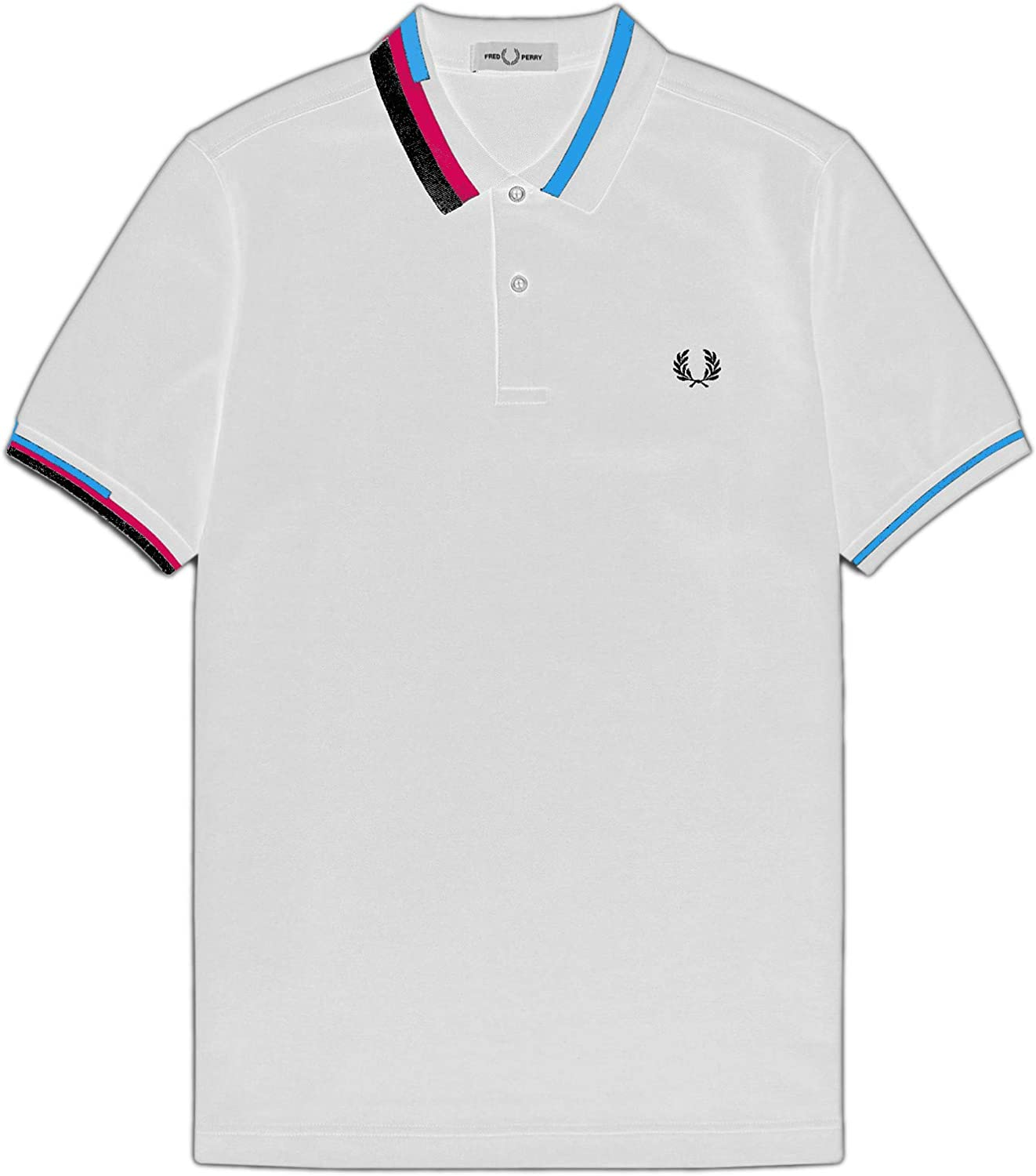 Fred Perry Mens Process Color Polo Shirt