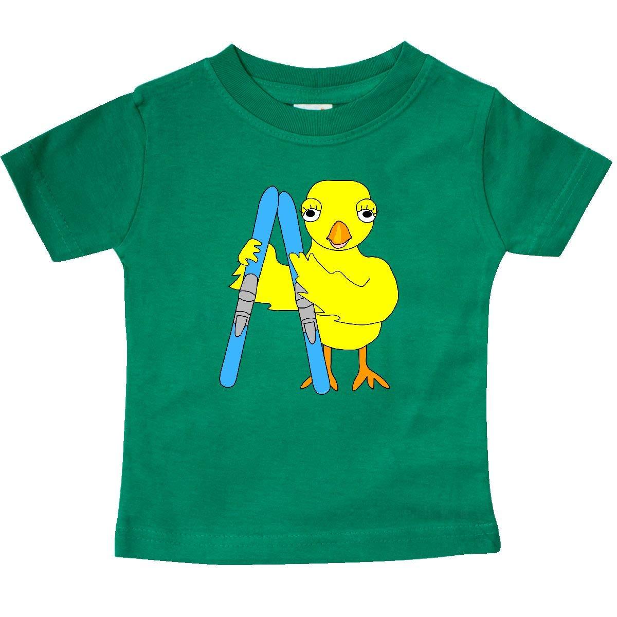 inktastic Ski Chick Baby T-Shirt