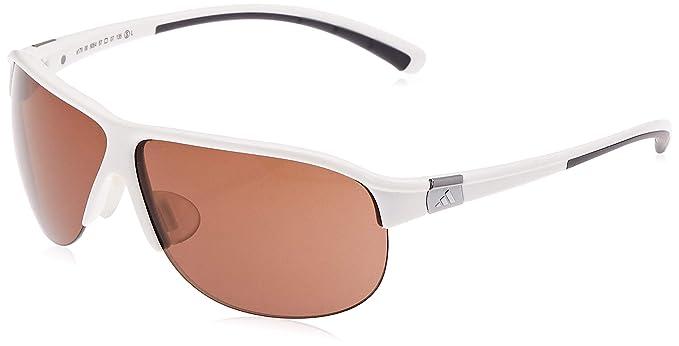 Amazon.com: adidas tourpro S AVIATOR anteojos de sol, Blanco ...
