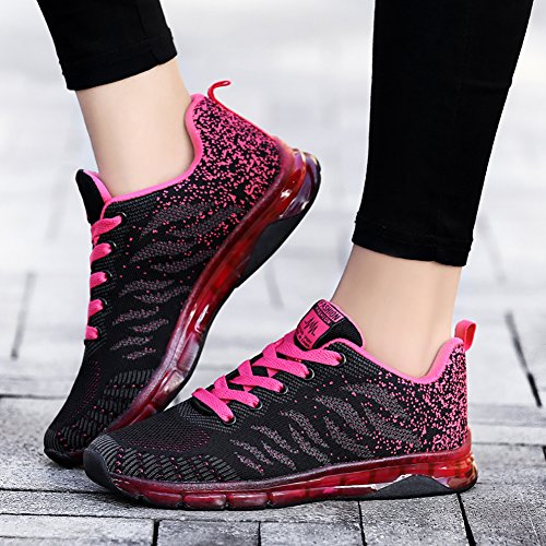 Black Air Fitness Gym Women's Sneakers Walking Running Red Fashion LIN Cushion Jogging Sport amp;LV Trail Workout Shoes qTBxHtZw