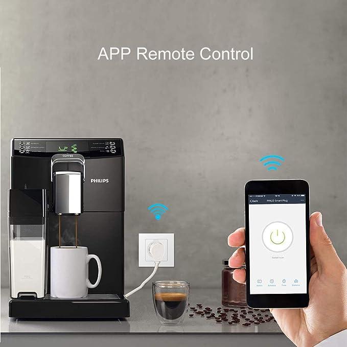 Enchufe Inteligente Wifi, Avatar Controls Enchufe WiFi con Control Remoto Función de Temporizador Compatible con Google Asistente, no se requiere Hub(2): Amazon.es: Bricolaje y herramientas