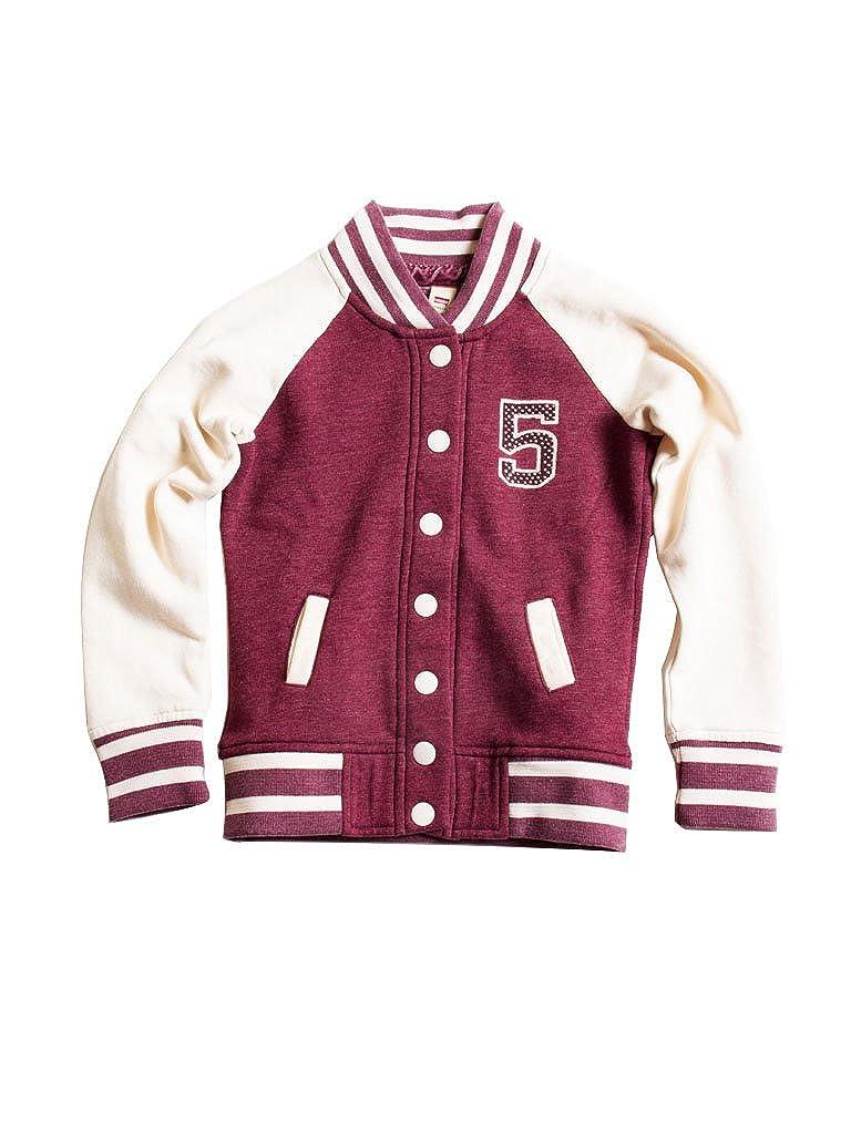 456 - Bordeaux 9-10 ans (hauteur  140 cm) voiturerera Jeans - Sweat-Shirt 881 pour Fille, Style imprimé, Taille Normale, Manche Longue