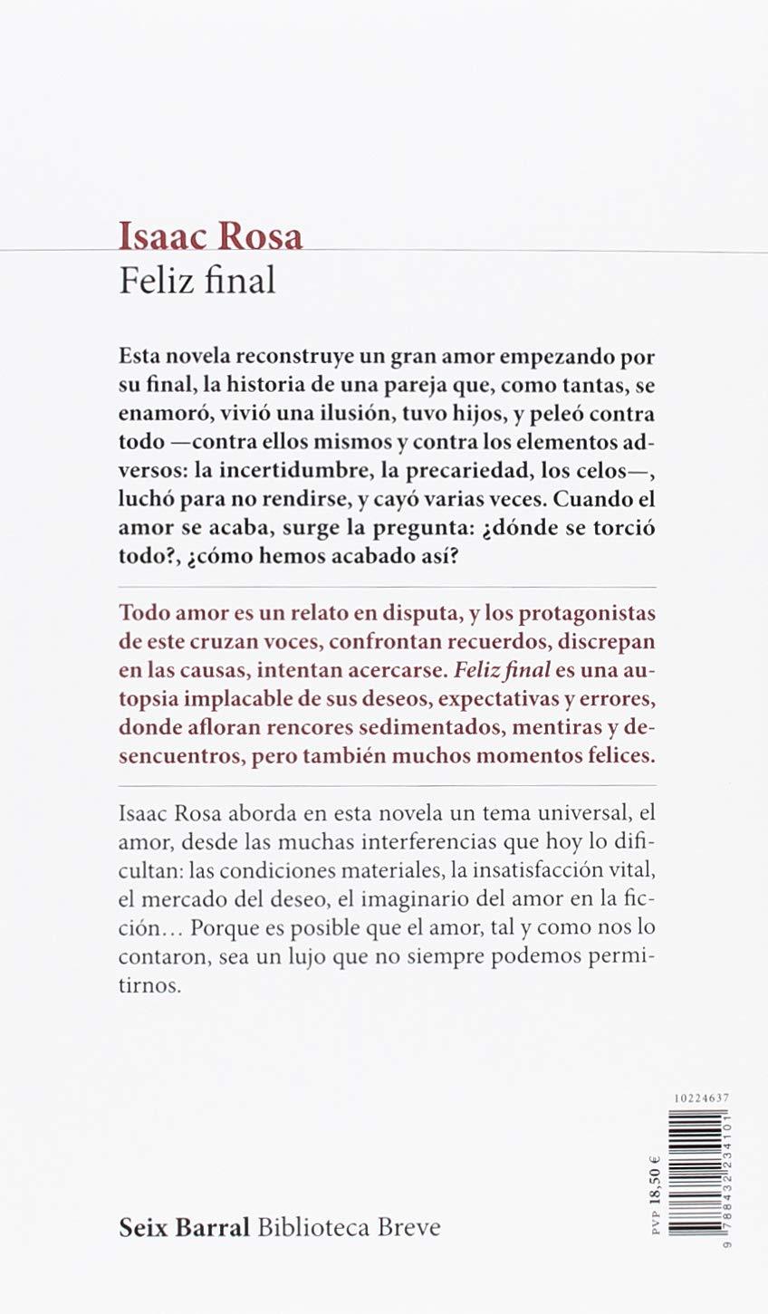 Feliz final (Biblioteca Breve): Amazon.es: Rosa, Isaac: Libros