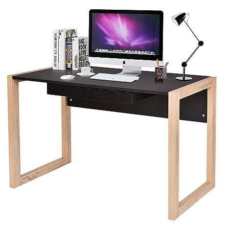 Amazon.com: Escritorio de madera para ordenador portátil ...