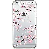 Capa Personalizada para iPhone 6 | 6S - Cerejeira - Husky, Husky, Capa Protetora para Celular, Colorido