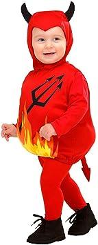 Traje Demonio Niños - 90-104 cm, 1-3 años | Disfraz Infantil Diablo ...