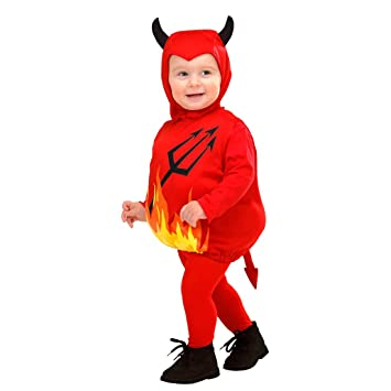 Traje Demonio Niños - 90-104 cm, 1-3 años | Disfraz Infantil ...