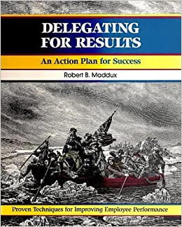 Book Delegating for Results (Fifty-Minute)