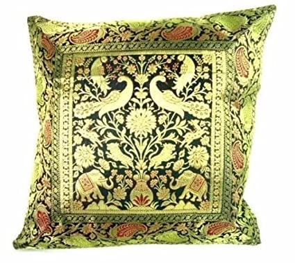 Amazon Ganesham Handicraft Indian Ethnic Hand Decorative Silk Stunning Brocade Home Decor Decoration