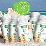5 Pack Garcinia Cambogia 100% Pure Weight Loss Supplement 95% HCA 1540 Mg Value Pack Extra Saving