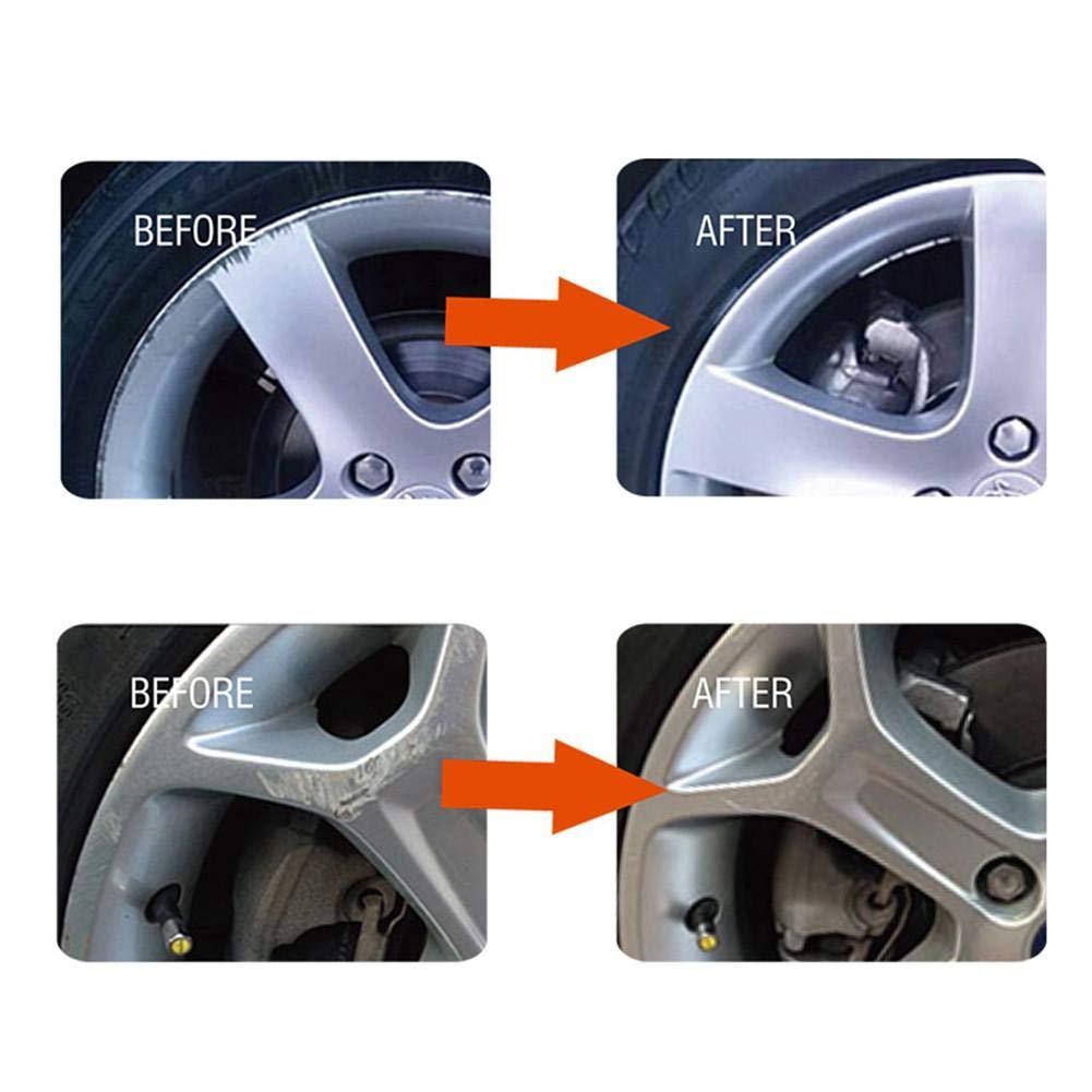 Neckip Quick Fix DIY Alufelgen Reparaturkleber Kit Felgenoberfl/ächensch/äden Auto Auto Felgen Dent Kratzer Pflege