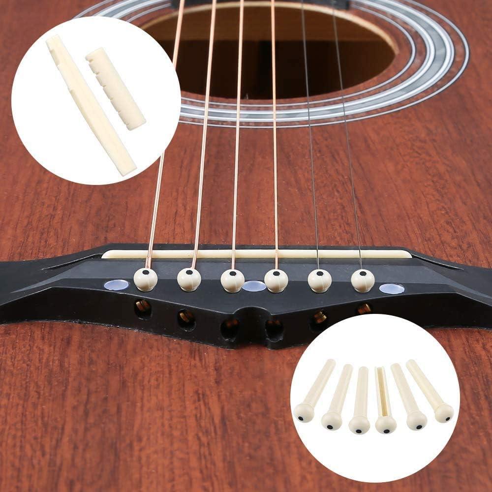 Accesorios de Guitarra Española,Puente de Hueso,Cuerdas de ...