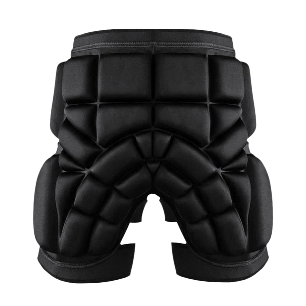 MagiDeal Thickened 2.5cm Ski Hip Butt Pad Roller Skate Snowboard Padded Safe Shorts Protector Adjustable Wasit - M