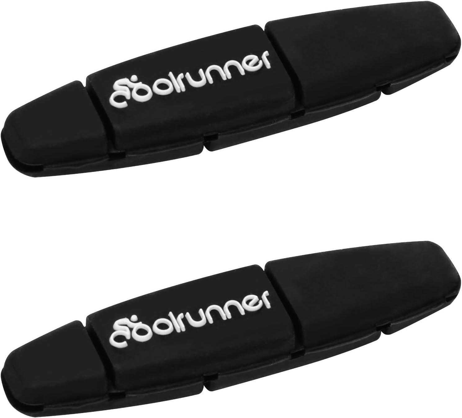 Coolrunner Tennis Dampener, 2 pcs Tennis Vibration Dampeners Black Tennis Racket Dampeners, Tennis String Shock Absorbers Soft and Durable