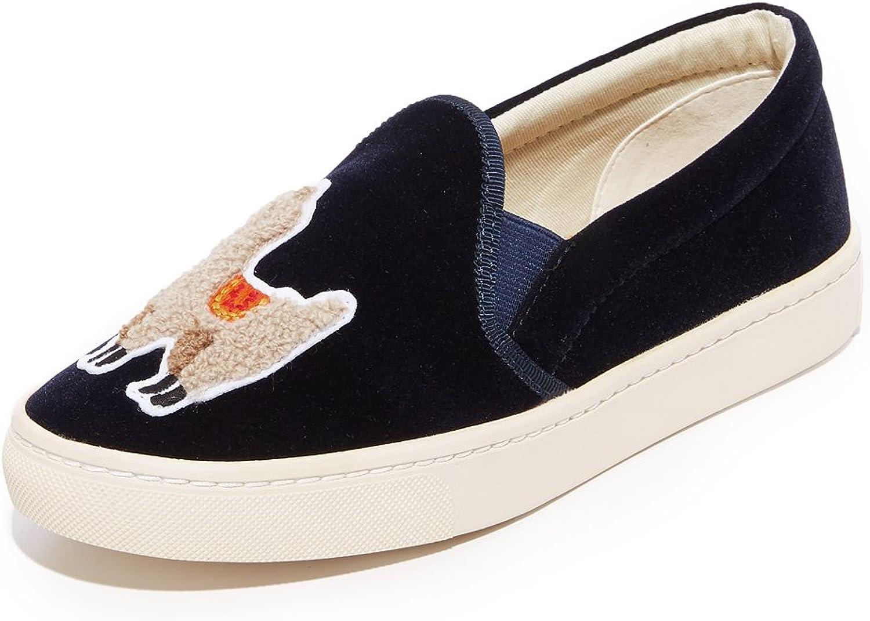 Soludos Velvet Llama Sneaker