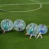 BubbleU24(TM) 4 Bubble Balls Package for Body Zorb Zorbing Inflatable Human Knocker Ball Bubble Soccer Football Game