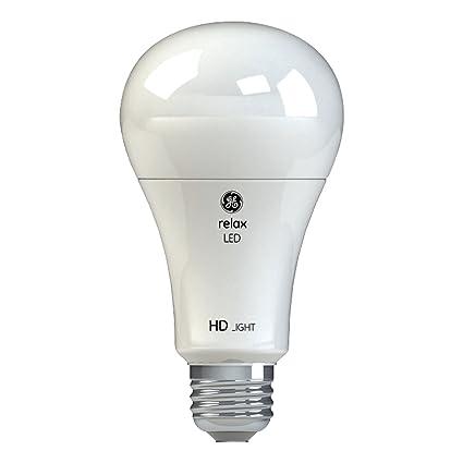 Ge Lighting 46226 Relax Hd Led 3 Way 30 70 100 Watt Replacement A21 Light Bulb Medium Base California Resident Soft White
