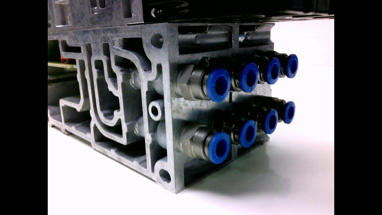 Festo Vabv-S4-2S-G18-2T1 Attached Part Number Vabf-S4-2-R1c2-C-6Zf Vabv-S4-2S-G18-2T1 with Attached Part Number Vabf-S4-2-R1c2-C-6Zf