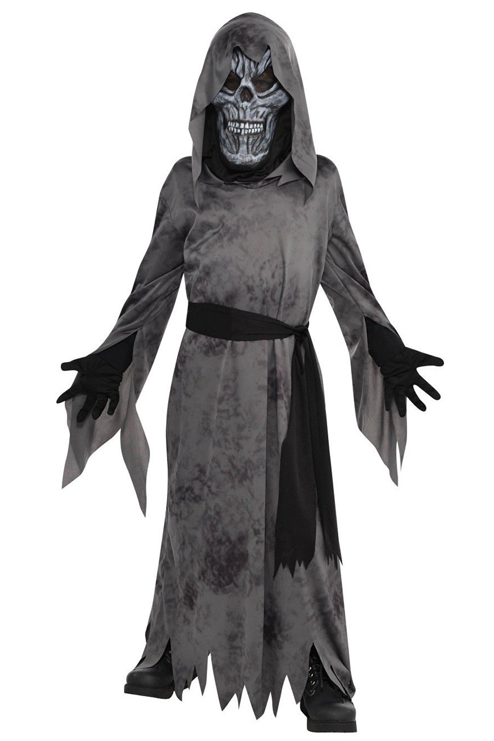 Ghastly Ghoul (Black) Costume - Age 4-6 Years - 1 PC  Amazon.co.uk ... 5d5eadb98