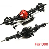 ARB Edition Alloy Front & Rear Axle for 1/10 RC Crawler Truck D90 Gelande II