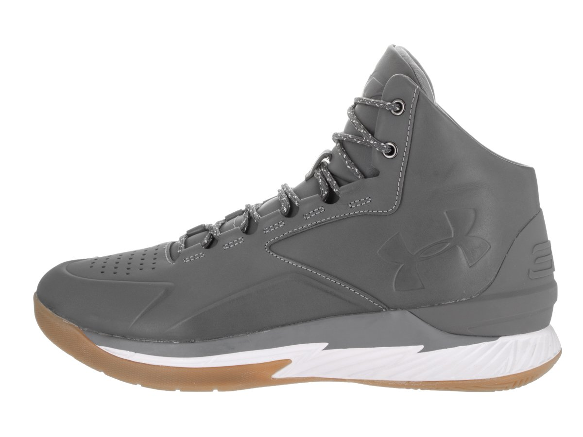 Under Armour Men's UA Curry 1 Lux Mid LTH Basketball Shoe: Amazon.co.uk:  Shoes & Bags