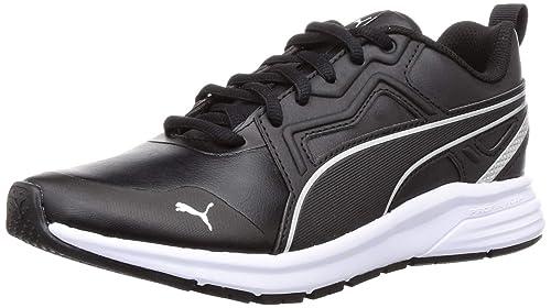 Pure Jogger Sl Jr Black Silver Sneakers