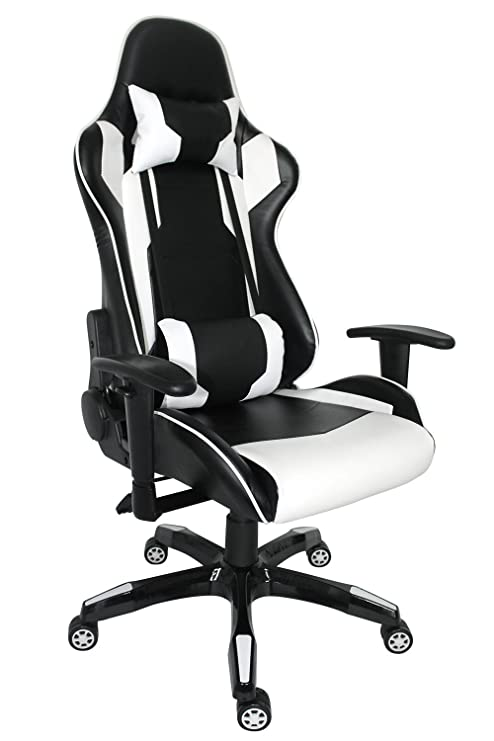 Excellent Proht Nas Racing Style Chair 05183A 180 Degree High Back Adjustment Gaming Chair Ergonomic Office Computer Swivel Chair With Adjustable Armrests Andrewgaddart Wooden Chair Designs For Living Room Andrewgaddartcom