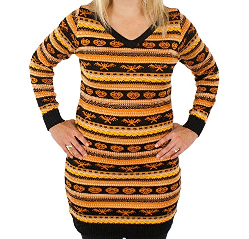 Spooky Halloween Sweater Dress