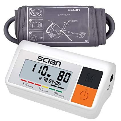 bakaji medidor de presión sanguínea Digital de brazo tensiómetro Profesional Electrónico Automático con pantalla LCD y