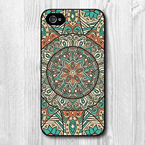 iphone covers New Fashion Design Eastern Floral Pattern Protective Hard Phone Cover Skin Case For Iphone 6 4.7 +Screen Protector