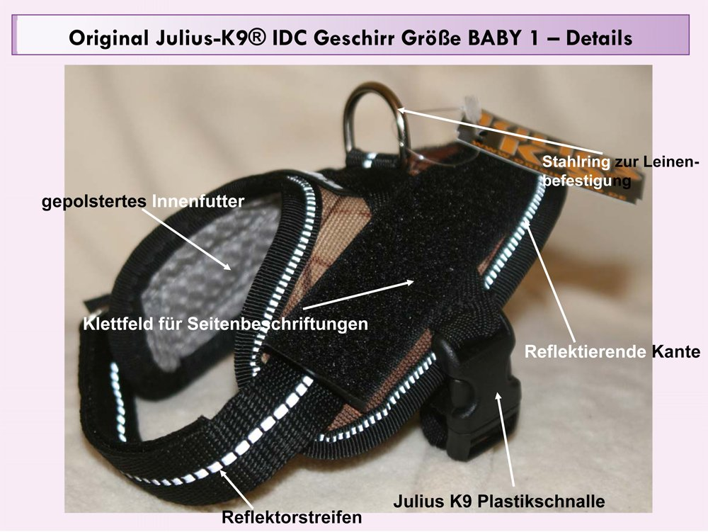 16idc-m-b1 Julius K9 ® IDC INNOVA comodidad de perro