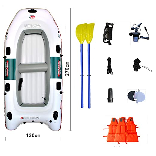 Barco Inflable para Kayak, 4 Personas, Barco Inflable con ...