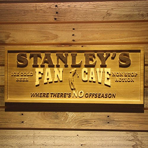(ADVPRO wpa0085 Name Personalized Golf Game Fan Cave Man Cave Bar Beer Sport 3D Engraved Wooden Sign - Large 26.75
