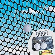 Golf nets, Backyard Golf nets, Golf Practice nets-10ft x 15ft / 10ft x 20ft, Black Golf Training Obstacle nets