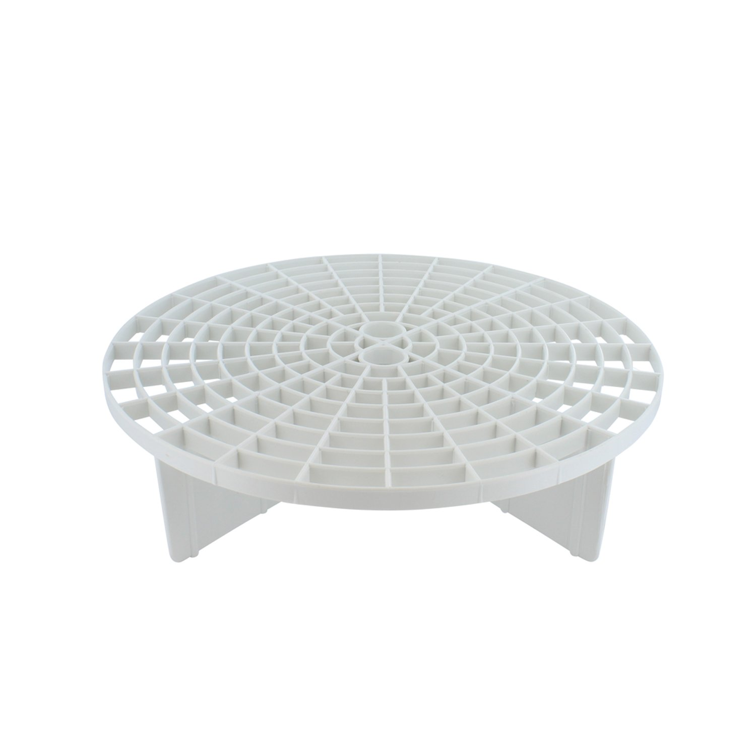 Grit Guard Bucket Insert (White) with Red Washboard