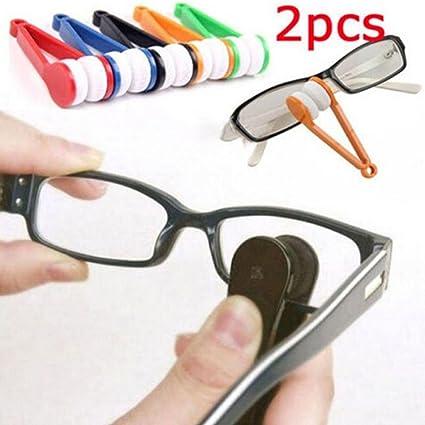 hcfkj Gafas Gafas de sol Gafas Gafas limpiador cepillo de limpieza Limpiaparabrisas Kit