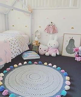 Hereu0026There Baby Teppich Matte Kinderteppich Kinderzimmer Schlafzimmer  Wohnzimmer Boden Babyzimmer Junge Dekoration Spielteppich Handball  Ballmatte (