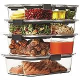 Rubbermaid Brilliance 18-piece Food Storage Set