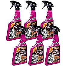 Meguiar's Hot Rims Wheel & Tire Cleaner (24 oz) - 6 Pack