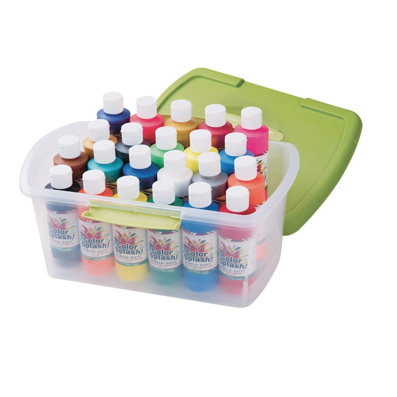 Color Splash Acrylic Paint in a Tub