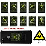 Product review for Anti Radiation Shield ,EMF Protection Sticker EMR Blocker Device For All EMF Devices-WiFi,iPhone, iPad, Laptop -EMF Neutralizer(10pcs)