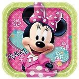 Square Minnie Mouse Dessert Plates, 8ct