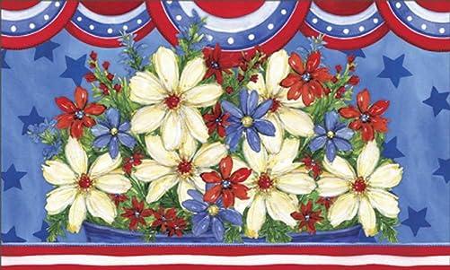 MatMates American Beauty Doormat