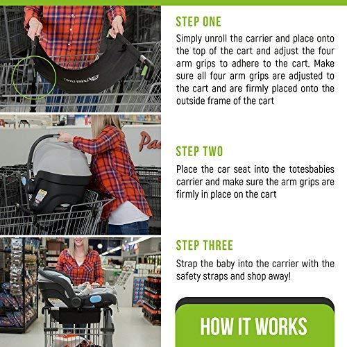 Amazon.com: Transportín para asiento de coche.: Baby